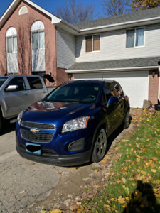 2014 Chevrolet Trax 6 speed manual 65000kms