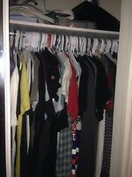 Lots of Designer Men's Clothes for sale all authentic no fakes