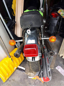 1980 Suzuki GS750 Rear End