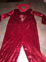 Little devil kids Halloween costume size 3/4