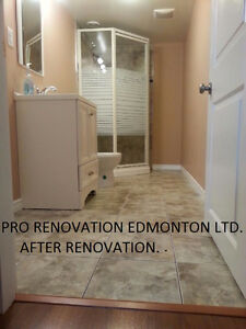 SUMMER IS HERE! RENOVATIONS HOUSES & FINISHED BASEMENT LOW COST Edmonton Edmonton Area image 4