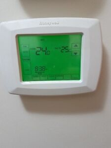 Honeywell 7 days touch screen thermostat