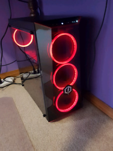 RED LED CYBERPOWER GAMING PC