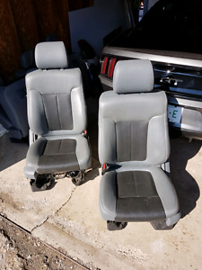 Upgrade your cloth f150 seats with these lariat trim seats!