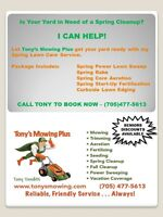 Book Your Spring Cleanup NOW!!! (Lawn Care)