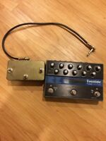 Eventide Timefactor delay pedal with aux switch