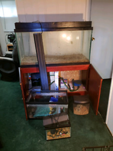 90 gallon tank and extras
