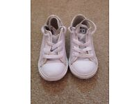 Converse White Leather