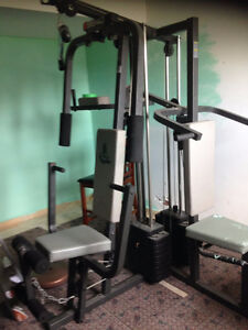 Total Gym Weider 9640, 3 station