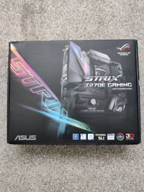 Asus STRIX GAMING Z270E motherboard w/ Intel I7-7700K