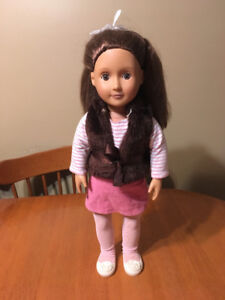 "Our generation girl 18"" doll sienna"