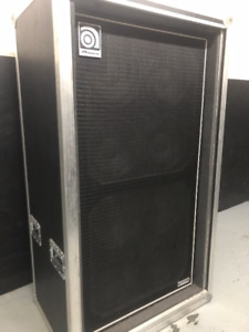 Ampeg SVT 8x10 Bass Cab MADE IN USA with ATA Road Case
