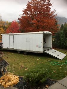 2008 Inclosed mirage v nose sled trailer for sale