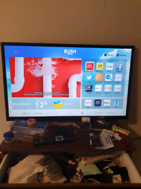 """Free delivery BUSH 40"""" SMART WIFI LED TV TELEVISION"""