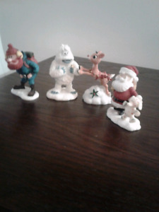 Rudolph the Red-Nosed Reindeer figurines