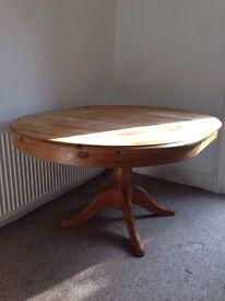 Extendable table pine 106 / 150cm