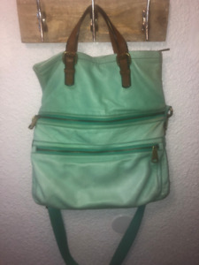 Fossil Explorer Tote For Sale (Mint Green)