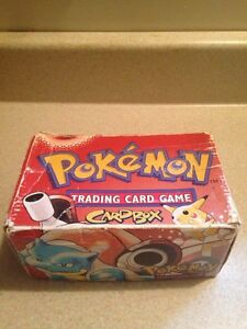Pokemon Card Box.