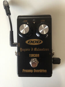 DOD Yngwee Malmsteen YJM308 Preamp overdrive