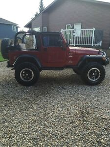 1998 Jeep TJ Sport Convertible