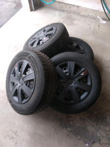 Subaru Winter Snow Tires and Rims GOODYEAR P225/60R16
