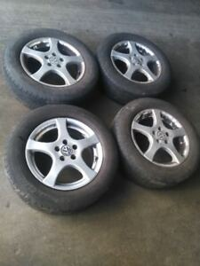 195 65 15 Michelin tires with rims