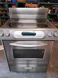 "Kitchenaid 30"" Convection Oven Range Stainless Steel"