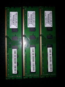 Kingston DDR3 2GB x 3 = 6GB