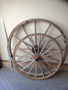 Stampede Decor Wagon Wheels