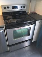 Cuisinière Maytag stainless 240$