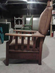 Fauteuil inclinable antique recliner