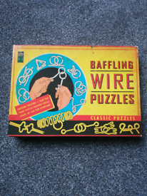 Baffling wire puzzles