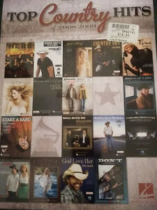 Country Hits Piano Song Book