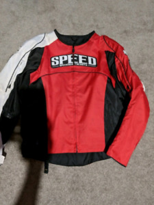 Speed and strength textile motorcycle jacket