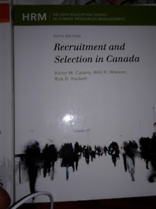 Recruitment and Selection in Canada (Fifth Ed)