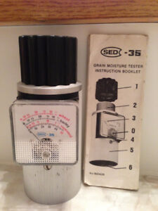 SED-35 Grain moisture tester
