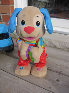 Fisher-Price Laugh & Learn Dance and Play Puppy, English