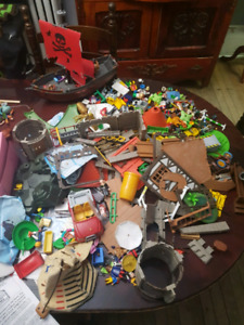 Massive lot of various PLAYMOBIL TOYS