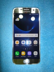 Samsung Galaxy S7 32gb Silver with Videotron-only $390 FIRM
