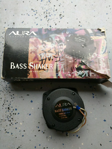 Old school car audio bass shakers