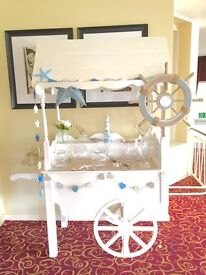 SWEET CART HIRE - Fully customisable for your wedding day 🍭🍬🍭🍬