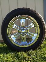 Goodyear Eagle GTII tires with rims