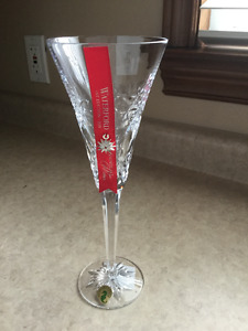 WATERFORD CRYSTAL LISMORE FLUTE X 2