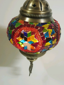 Turkish Ceiling light Handcrafted