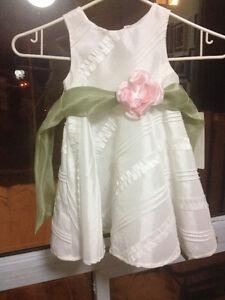 Brand New Macy's White Girls dress