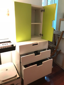 IKEA STUVA storage combination wardrobe with doors and drawers