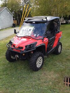 2011 Can Am Comander 1000XT side by side (UTV)