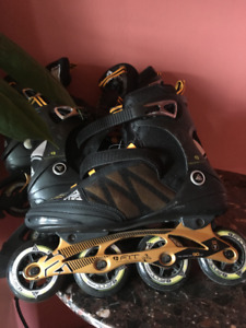 Quality Nearly New Rollerblades Size 10.5 and 8.5