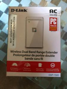D-Link Wireless dual band range extender DAP-1520