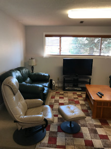 2 bedroom basement suite for rent in Camrose